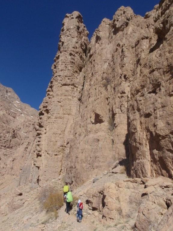 مسیر قله قبل ار دره نجیب